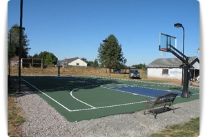 Basketball Courts Installation and Construction around Portland OR and SW Washington area