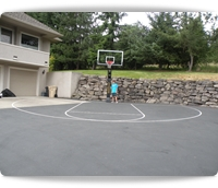 basketball hoops and basketball systems