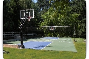 home and game court construction for all sports