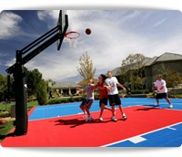 outdoor court sports tiles