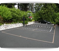 sports lines for tennis, basketball, pickleball and all game courts