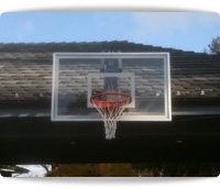 roof mounted basketball hoops