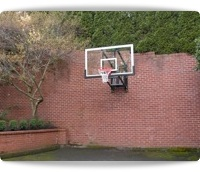 wall mounted hoops for basketball