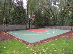 photo gallery of basketball courts
