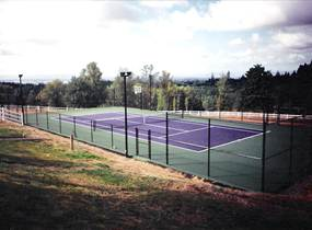 photo gallery of tennis courts