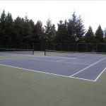 two tennis courts in beaverton oregon