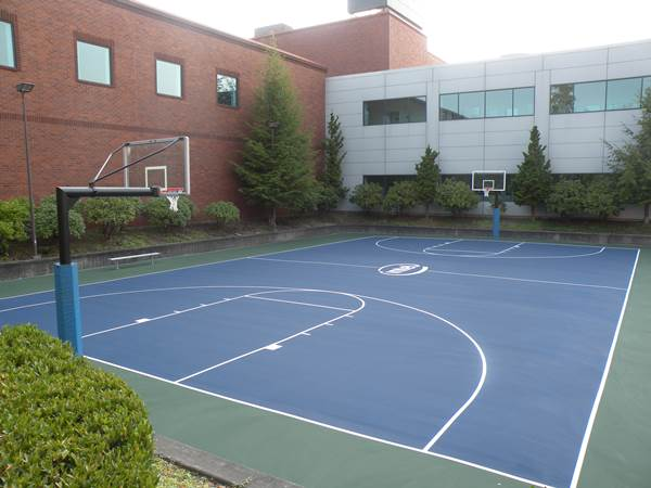 Home Court Construction For Basketball Courts In Vancouver Wa