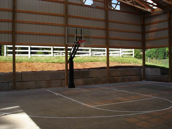 Photo gallery of basketball courts in vancouver wa for Basketball court at home