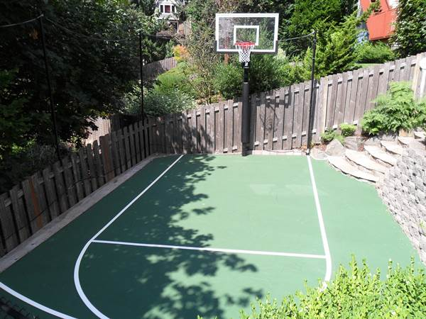 Photo gallery of basketball courts in vancouver wa for How to build a basketball court at home